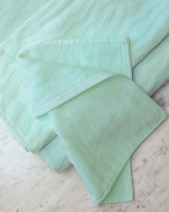 Sand Ripple 3-Piece Organic Bath Towel Set