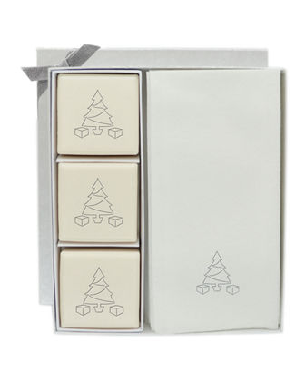 Carved Solutions Eco-Luxury Christmas Tree Courtesy Gift Set