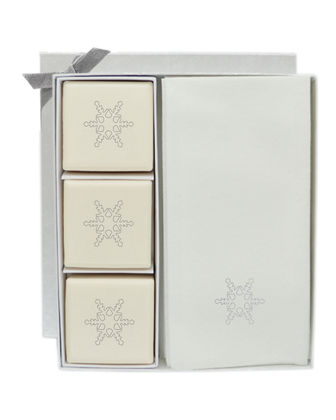 Eco-Luxury Snowflake Courtesy Gift Set