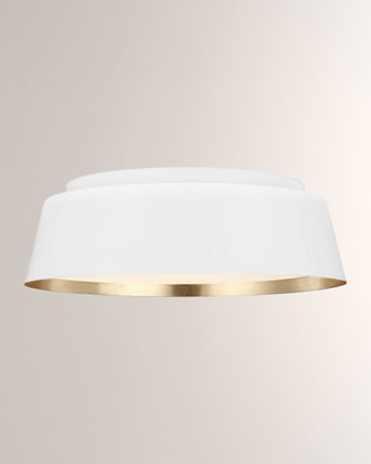 ED Ellen DeGeneres Asher 3-Light Flush Mount