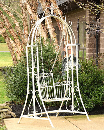 Oasis Iron Swing Chair