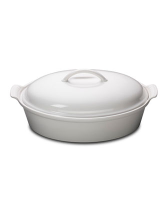 Heritage Covered Oval Casserole Dish