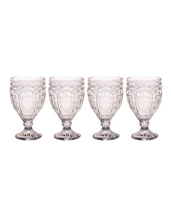 Trestle Goblets  Set of 4