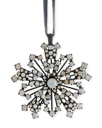 Snowflake Hanging Ornament