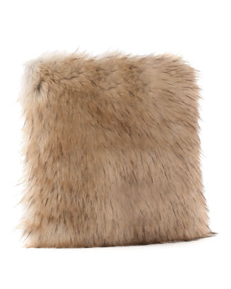 Limited Edition Faux Fur Pillow