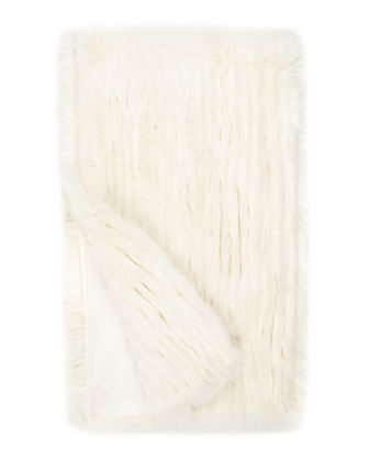 Apres Faux Mink Fur Throw