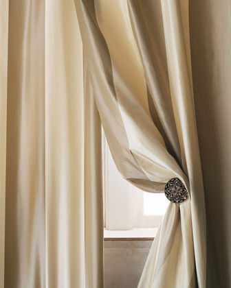 Home Silks Each Hampton Curtain, 108