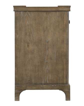 Rustic Patina Gallery Framed Bachelor's Chest