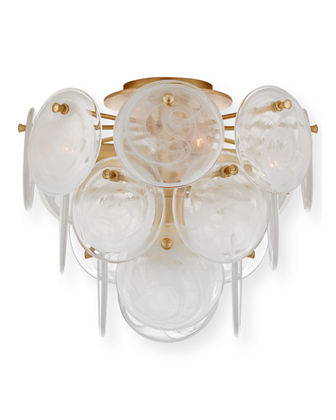 AERIN Loire Medium Tiered Flush Mount