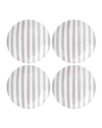 charlotte st tidbit plates, set of four