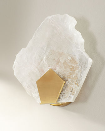 Selenite 1-Light Wall Sconce