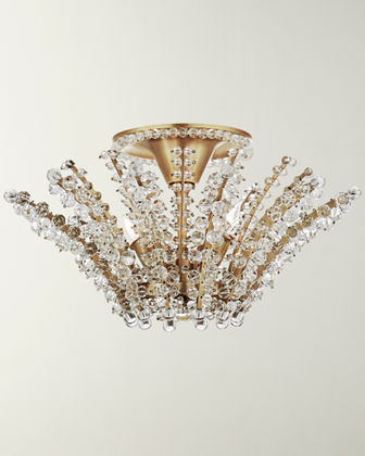 AERIN Serafina Small Semi-Flush Chandelier