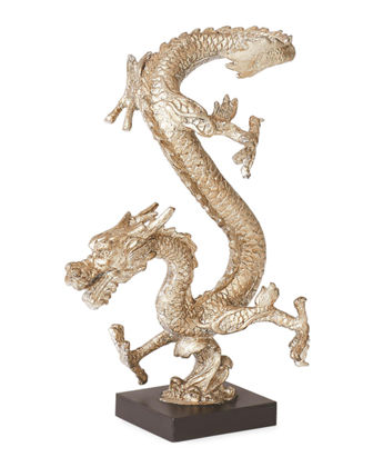 Standing Dragon Sculpture