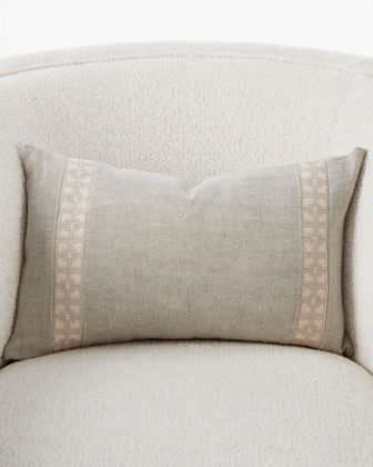 Icon Lumbar Pillow  19 x 12