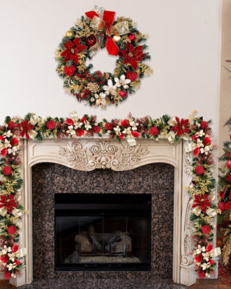 9' Pre-Decorated Garland